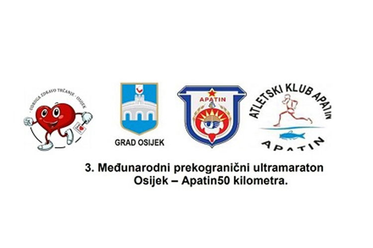 3. Međunarodni ultramaraton Osijek-Apatin